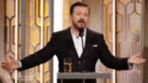 Ricky Gervais Goes Unfiltered in Golden Globes Monologue | THR News [Video]