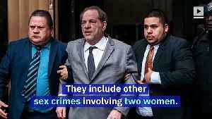 Harvey Weinstein Is Charged With Rape by LA Prosecutors [Video]