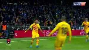 Golazo de Suarez vs Espanyol [Video]