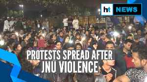 Watch: Student protests spread across country after JNU violence [Video]