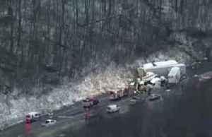 Pennsylvania pile-up kills five, injures 60 [Video]