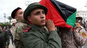 News video: Dozens killed in attack on military academy in Libya's Tripoli