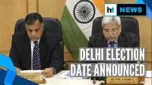 Delhi election 2020: Single phase polls on 8 February, counting on 11 February [Video]