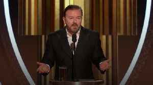 2020 Golden Globes: Ricky Gervais' best and most shocking jokes [Video]