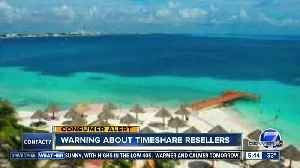 Warning about timeshare resellers [Video]