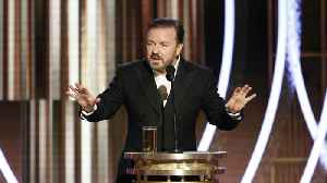 Ricky Gervais' scathing Golden Globes speech receives mixed response [Video]