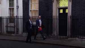 News video: Ministers arrive in Downing Street for talks on Iran