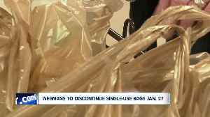 Wegmans announces plastic bag ban effective January 27 [Video]