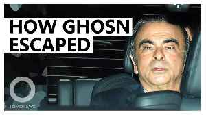 Carlos Ghosn's escape: How it happened [Video]