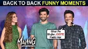Anil Kapoor, Aditya, Disha Patani BACK TO BACK Funny Moments | Malang Official Trailer Launch [Video]
