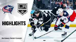 NHL Highlights | Blue Jackets @ Kings 1/6/20 [Video]