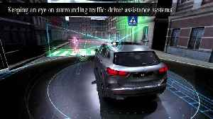 The new Mercedes-Benz GLA - Keeping an eye on surrounding traffic - driver assistance systems [Video]