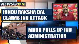 JNU violence: Hindu Raksha Dal claims attacks, Delhi police investigates  | OneIndia News [Video]