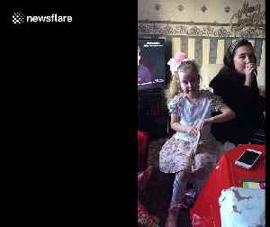 'Yes you f***ing dancer!' Scottish girl has hilarious reaction to the best Christmas present [Video]