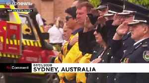 'A decent guy': Funeral of firefighter killed in Australian fires [Video]