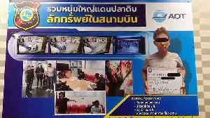 Japanese holidaymaker arrested after stealing woman's handbag at Thai airport [Video]