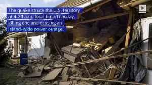 6.4 Magnitude Earthquake Hits Puerto Rico [Video]