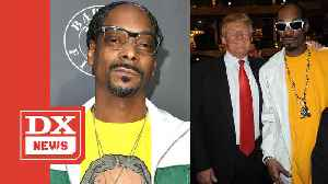 Snoop Dogg Shares Throwback Clip Of Him Roasting Donald Trump's Presidential Aspirations [Video]