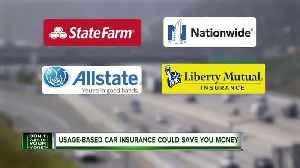 Usage-based car insurance could save you money [Video]