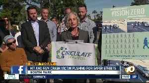 Hit-and-run crash survivor calls for safer streets [Video]