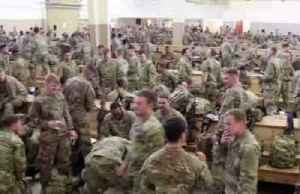Pentagon deploys additional troops to Middle East [Video]