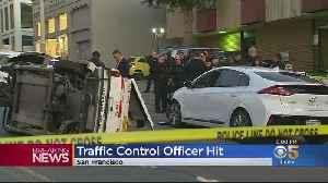 Police In San Francisco Investigate Injury Crash Into Traffic Control Vehicle [Video]