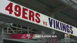 49er Faithful Amped Up For 1st Playoff Game At Levi's Stadium [Video]
