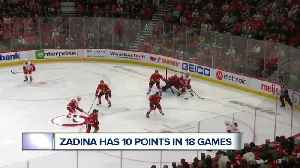 Filip Zadina proving his talent will keep him in Detroit for a while [Video]