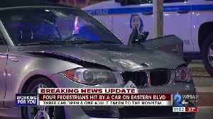 Three children and one adult struck by vehicle in Essex [Video]