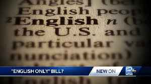 News video: Lawmakers introduce bill to make English the official state language