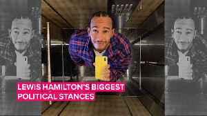 Controversial? 3 times Lewis Hamilton got political [Video]