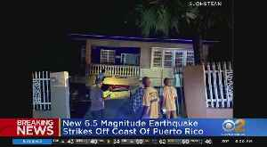 Another Earthquake Rocks Puerto Rico [Video]