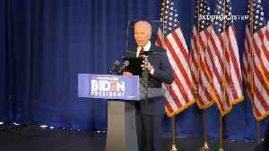 News video: Former VP Joe Biden speaks about Iran situation plus message for Trump