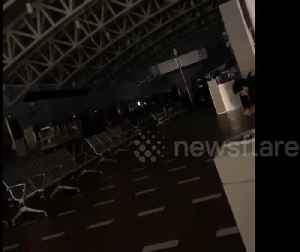 News video: Puerto Rico airport power suffer power outage due to earthquake