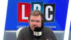 """James O'Brien: """"Corbyn survived by sticking his head in front of adoring fans"""" [Video]"""