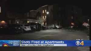 Denver Tech Center Crime: Bullets Fly Into Apartment Building [Video]