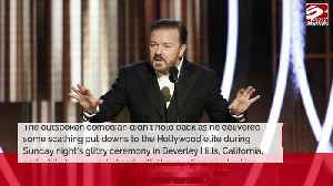 Ricky Gervais glad Golden Globes is over [Video]