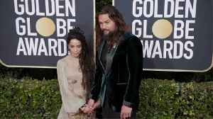 Jason Momoa gave his Golden Globes jacket to wife Lisa Bonet [Video]