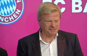 Bayern legend Oliver Kahn becomes board member [Video]