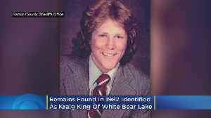 The Remains Of A Body Found In 1982 Now Been Identified As Kraig King Of White Bear Lake [Video]