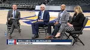 Journalists visit Milwaukee for DNC walk-through [Video]