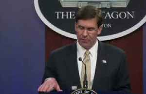 News video: Iranian commander was planning attack within days -Esper