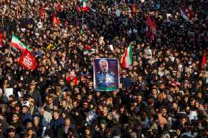 News video: Stampede in Iran During Soleimani's Funeral Kills at Least 56