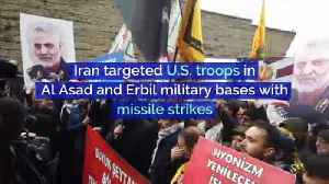 Iran Attacks Military Bases Housing US Troops in Iraq [Video]