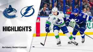 NHL Highlights | Canucks @ Lightning 1/7/20 [Video]