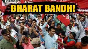 Bharat Bandh called by 10 central trade unions, violent clashes in Malda | Oneindia News [Video]