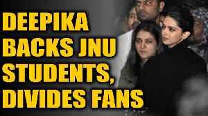 News video: Deepika Padukone backs JNU students; Report finds police inaction in JNU | OneIndia News