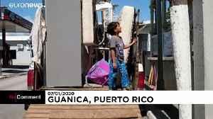 Magnitude 6.4 earthquake hits off Puerto Rico [Video]
