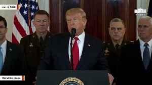 Trump Announces New Sanctions Against Iran [Video]