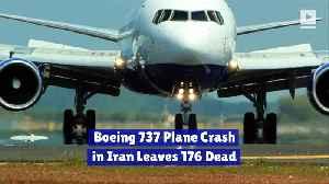 Boeing 737 Plane Crash in Iran Leaves 176 Dead [Video]